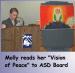 Molly R Vision of Peace
